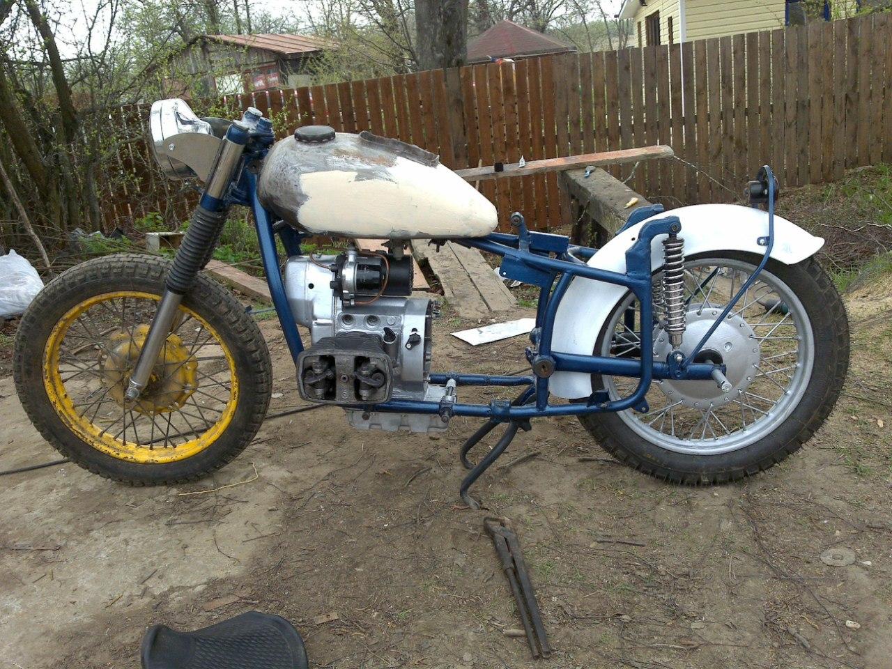 схема зажигания мотоцикла непар